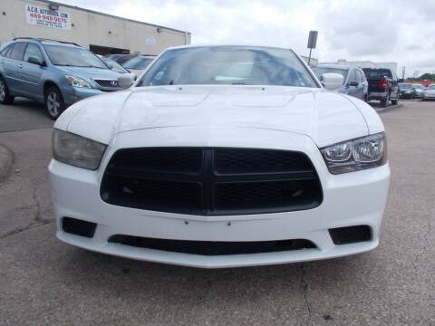 2013 Dodge Charger for sale at ACH AutoHaus in Dallas TX