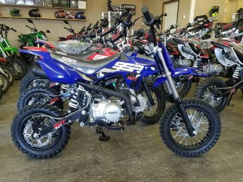 2021 SSR SR110 for sale at Toy Barn Motors - Youth Atv's/Side by Sides/Dirt Bikes in New York Mills MN