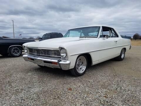 1966 Chevrolet Nova for sale at NJ Enterprises in Indianapolis IN
