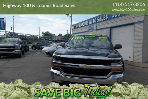 2018 Chevrolet Silverado 1500 for sale at Highway 100 & Loomis Road Sales in Franklin WI