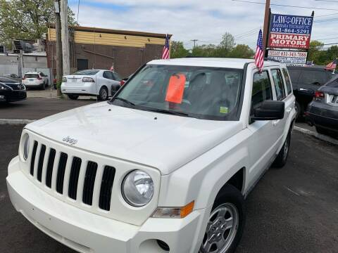 2010 Jeep Patriot for sale at Primary Motors Inc in Commack NY