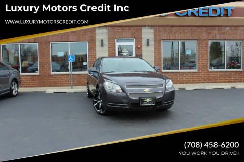 2011 Chevrolet Malibu for sale at Luxury Motors Credit Inc in Bridgeview IL