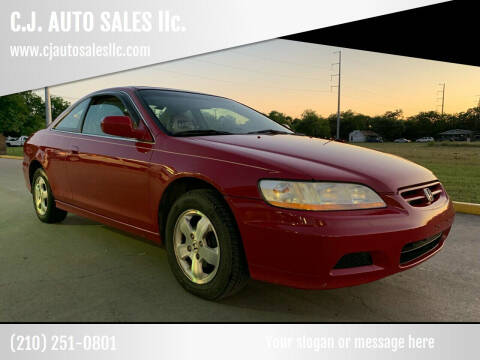 2001 Honda Accord for sale at C.J. AUTO SALES llc. in San Antonio TX
