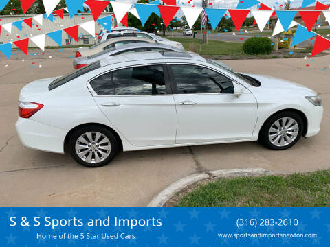 2013 Honda Accord for sale at S & S Sports and Imports in Newton KS