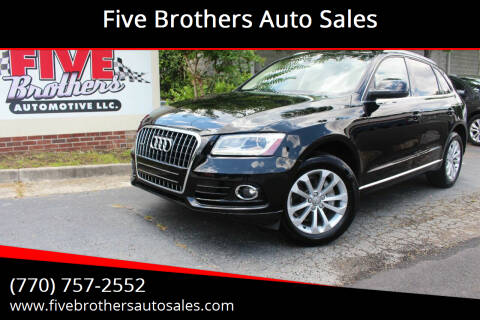 2014 Audi Q5 for sale at Five Brothers Auto Sales in Roswell GA