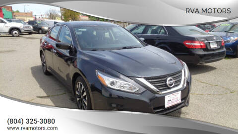 2018 Nissan Altima for sale at RVA MOTORS in Richmond VA