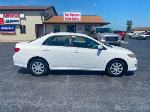 2009 Toyota Corolla for sale at Pro Source Auto Sales in Otterbein IN