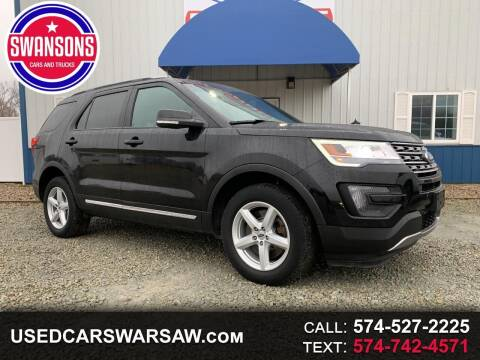 2016 Ford Explorer for sale at Swanson's Cars and Trucks in Warsaw IN