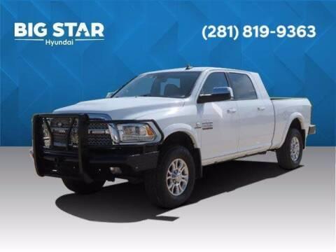 2016 RAM Ram Pickup 2500 for sale at BIG STAR HYUNDAI in Houston TX
