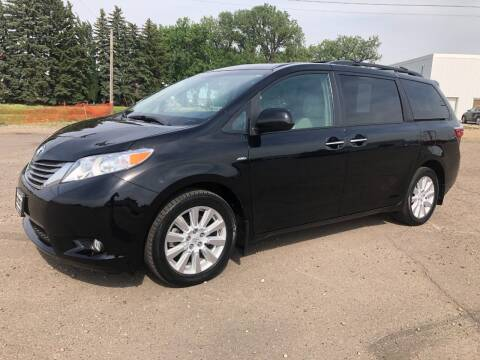 2017 Toyota Sienna for sale at BISMAN AUTOWORX INC in Bismarck ND