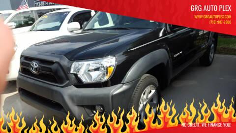 2015 Toyota Tacoma for sale at GRG Auto Plex in Houston TX