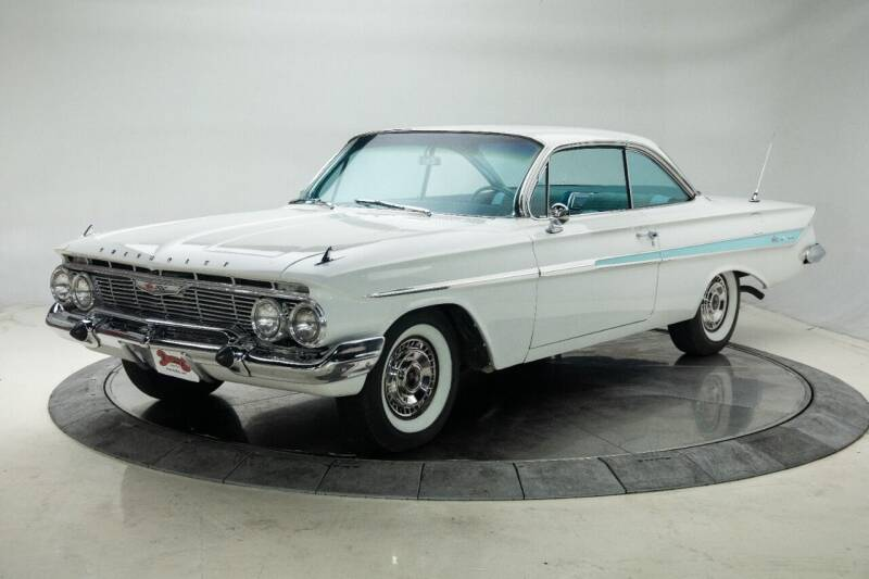 1961 Chevrolet Bel Air for sale at Duffy's Classic Cars in Cedar Rapids IA