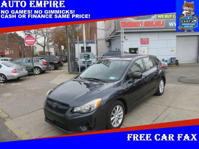 2013 Subaru Impreza for sale at Auto Empire in Brooklyn NY