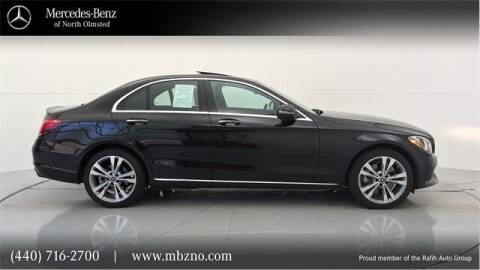 2018 Mercedes-Benz C-Class for sale at Mercedes-Benz of North Olmsted in North Olmsted OH