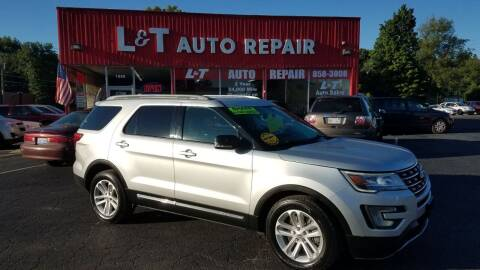2017 Ford Explorer for sale at L&T Auto Sales in Three Rivers MI