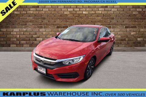 2016 Honda Civic for sale at Karplus Warehouse in Pacoima CA