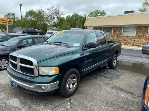 2002 Dodge Ram Pickup 1500 for sale at Walker Motors in Muncie IN