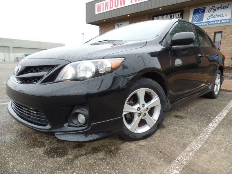 2012 Toyota Corolla for sale at Flywheel Motors, llc. in Olive Branch MS