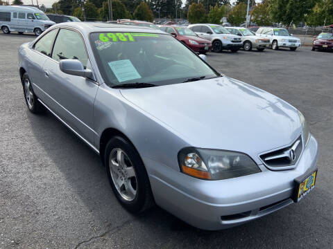 2003 Acura CL for sale at Pacific Point Auto Sales in Lakewood WA
