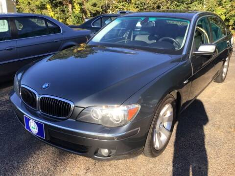 2007 BMW 7 Series for sale at Willow Street Motors in Hyannis MA