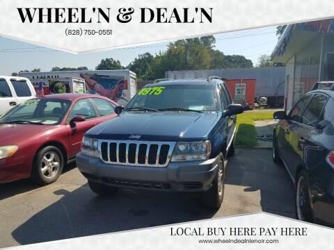 2002 Jeep Grand Cherokee for sale at Wheel'n & Deal'n in Lenoir NC