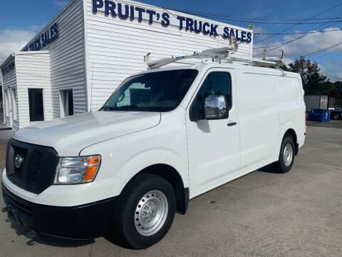 2015 Nissan NV Cargo for sale at Pruitt's Truck Sales in Marietta GA