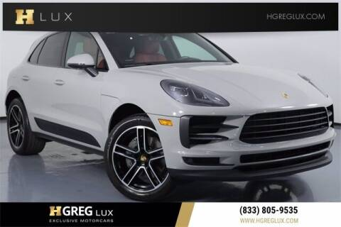 2019 Porsche Macan for sale at HGREG LUX EXCLUSIVE MOTORCARS in Pompano Beach FL
