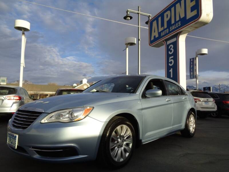 2014 Chrysler 200 for sale at Alpine Auto Sales in Salt Lake City UT