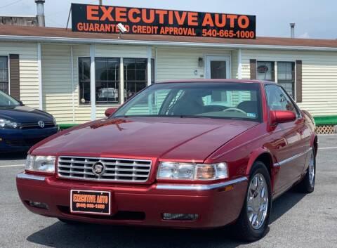 2001 Cadillac Eldorado for sale at Executive Auto in Winchester VA
