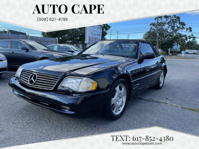 1999 Mercedes-Benz SL-Class for sale at Auto Cape in Hyannis MA