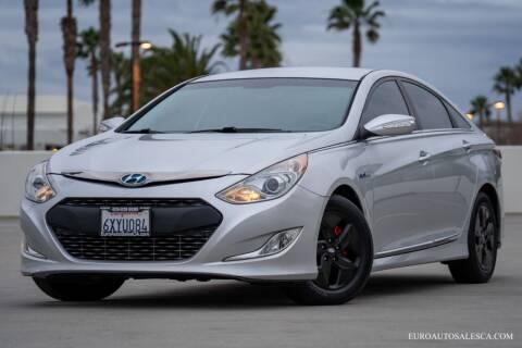 2012 Hyundai Sonata Hybrid for sale at Euro Auto Sales in Santa Clara CA