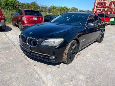 2011 BMW 7 Series for sale at Sam's Auto Sales in Houston TX