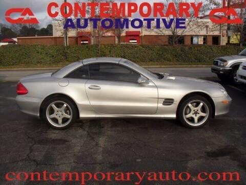 2003 Mercedes-Benz SL-Class for sale at Contemporary Auto in Tuscaloosa AL