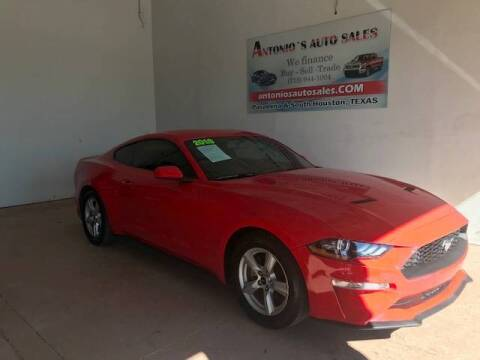 2018 Ford Mustang for sale at Antonio's Auto Sales in South Houston TX