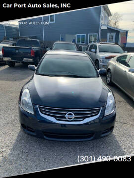 2012 Nissan Altima for sale at Car Port Auto Sales, INC in Laurel MD