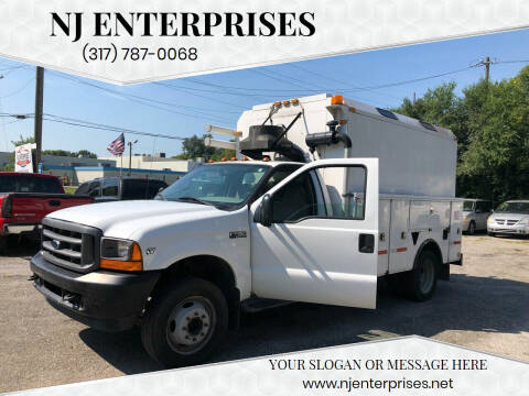 2001 Ford F-550 Super Duty for sale at NJ Enterprises in Indianapolis IN