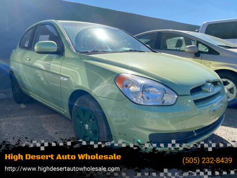 2011 Hyundai Accent for sale at High Desert Auto Wholesale in Albuquerque NM