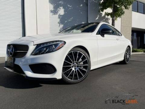 2018 Mercedes-Benz C-Class for sale at BLACK LABEL AUTO FIRM in Riverside CA