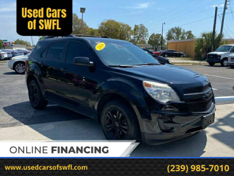 2014 Chevrolet Equinox for sale at Used Cars of SWFL in Fort Myers FL