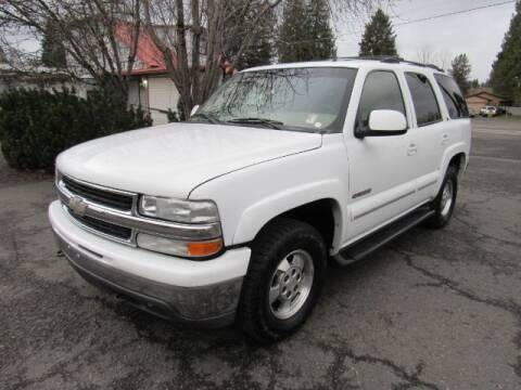 2002 Chevrolet Tahoe for sale at Triple C Auto Brokers in Washougal WA