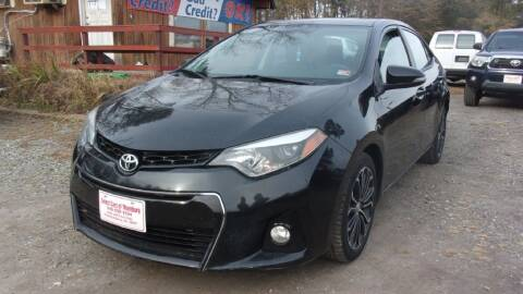 2014 Toyota Corolla for sale at Select Cars Of Thornburg in Fredericksburg VA