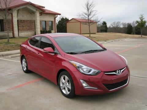 2016 Hyundai Elantra for sale at DFW AUTO FINANCING LLC in Dallas TX
