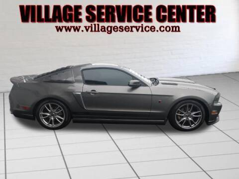 2013 Ford Mustang for sale at VILLAGE SERVICE CENTER in Penns Creek PA