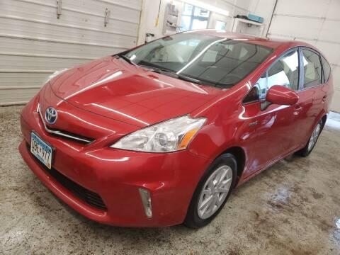 2012 Toyota Prius v for sale at Jem Auto Sales in Anoka MN