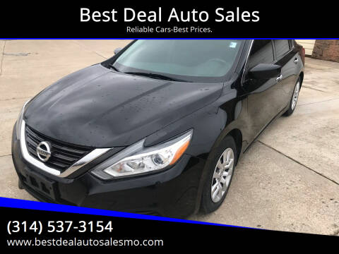 2016 Nissan Altima for sale at Best Deal Auto Sales in Saint Charles MO