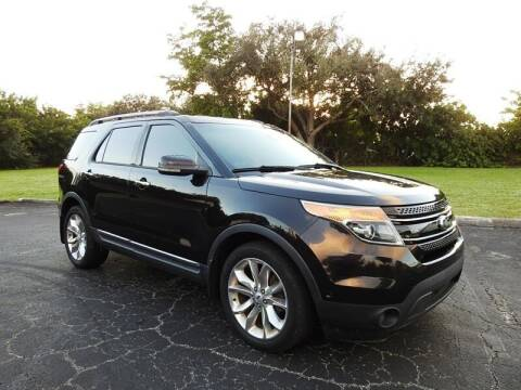 2013 Ford Explorer for sale at SUPER DEAL MOTORS 441 in Hollywood FL