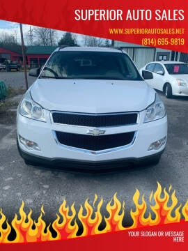 2010 Chevrolet Traverse for sale at Superior Auto Sales in Duncansville PA
