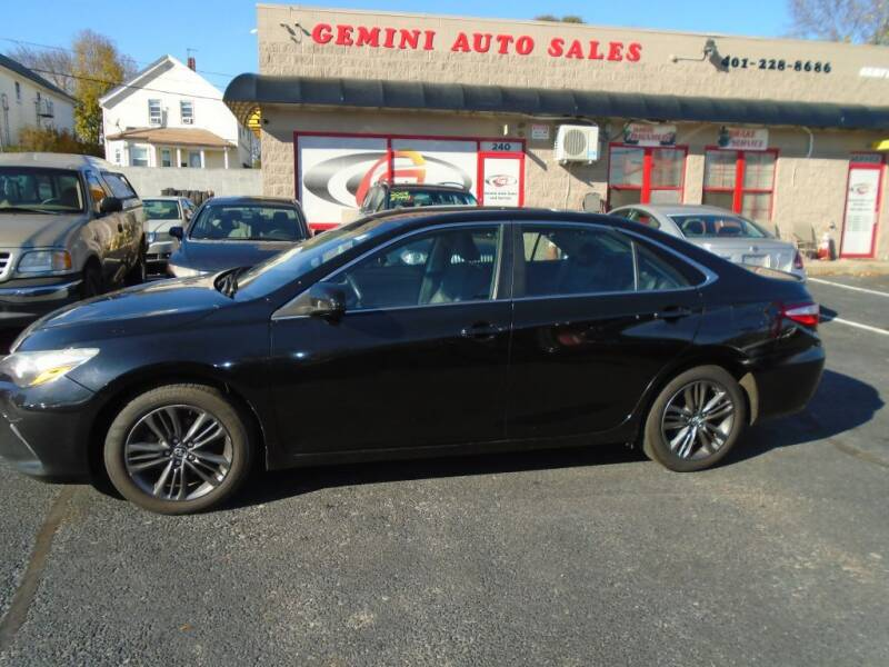 2015 Toyota Camry for sale at Gemini Auto Sales in Providence RI