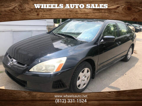2005 Honda Accord for sale at Wheels Auto Sales in Bloomington IN