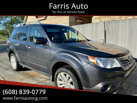 2011 Subaru Forester for sale at Farris Auto - Main Street in Stoughton WI